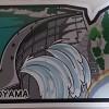 黒部ダムのご当地フォルムカードを購入