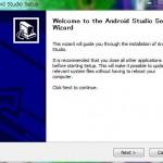 Android Studio(v0.8.6 for windows)をインストールしてみました