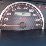 VOXY(AZR60G)の走行距離と燃費