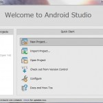 Android StudioでHelloWorld