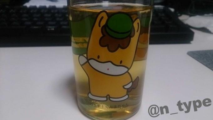 ぐんまちゃんカップでホットウイスキー
