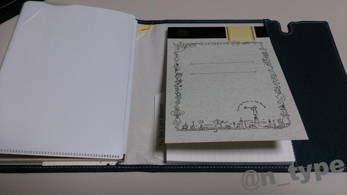 Thinking Power Notebook フューチャー キングジムのノートカバーに取り付け