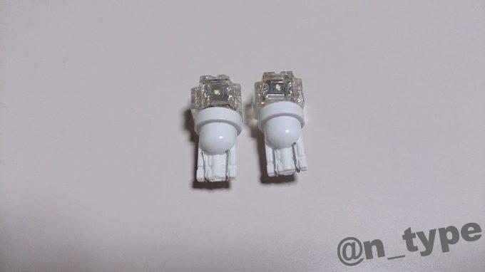 イネックス FLUX5連 T10 LEDウェッジ球
