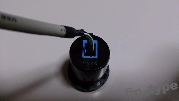 ソリオ用 USBソケット 仮接続