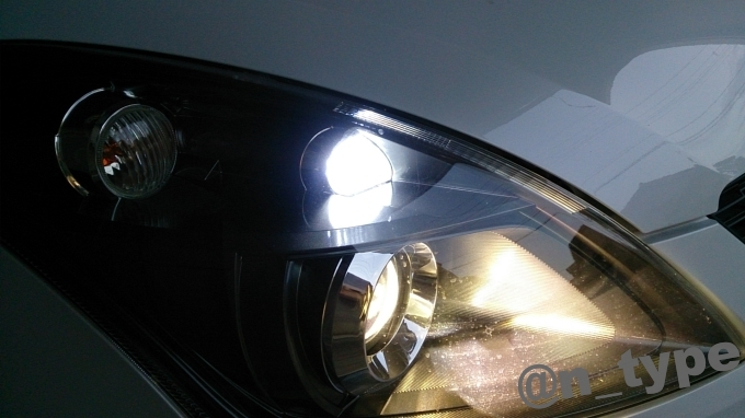 スイフトRS ポジションランプ LED化