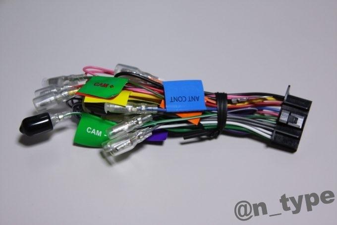 KENWOOD MDV-D503 電源ハーネス