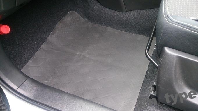 ロードノイズ低減マット スイフト 助手席