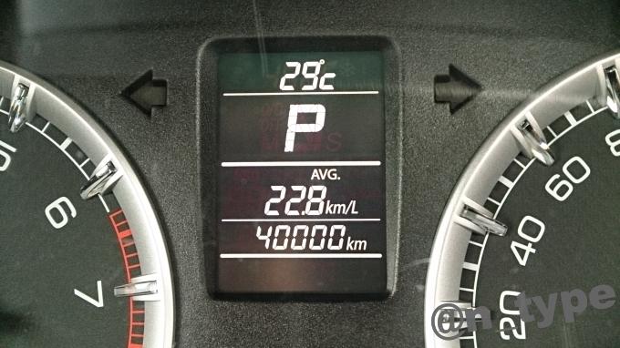 スイフトRS 4万km