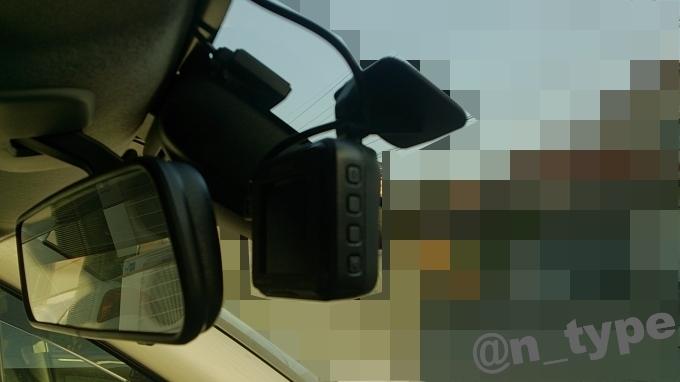 キャスト アクティバ ドライブレコーダー取付位置 DRV-325