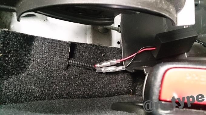 スイフトRS USBスマート充電キット 配線