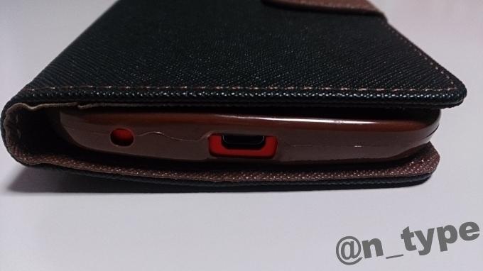 【 shizuka-will- 】Amazon限定 Asus ZenFone 2 Laser (ZE500KL) 専用 手帳型 ケース カバー ストラップ付 カード収納あり Rev1.1  下部