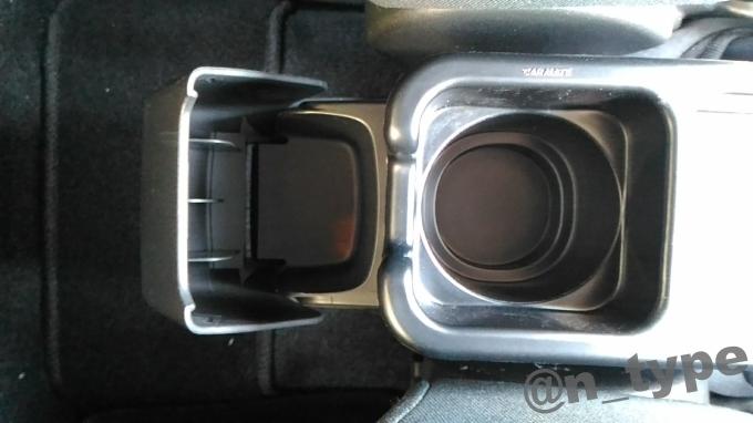 トレー 純正カップホルダー用 M ブラック CZ370 干渉