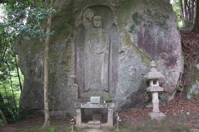 石山観音公園 地蔵菩薩立像