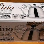 安くて日本製のコーヒードリップポット フィーノを購入しました