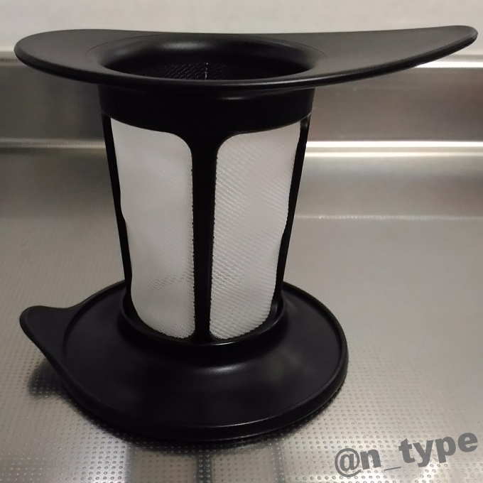 HARIO (ハリオ) ワンカップティーメーカー 200ml ブラック OTM-1B 蓋の使い方
