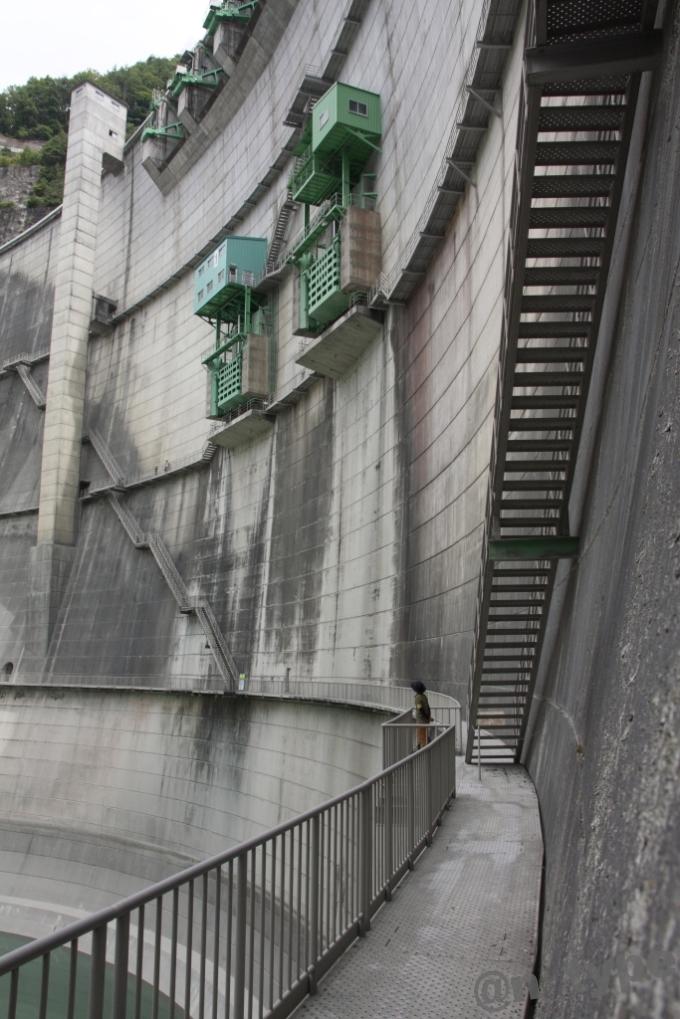 小渋ダム開放DAY 左岸側