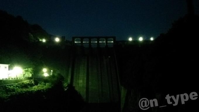 丸山ダム 2018年8月5日