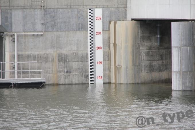 河内川ダム 水位