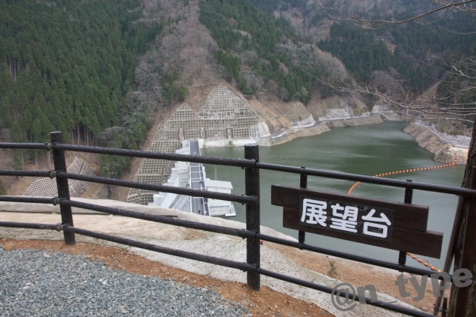 河内川ダム 展望台