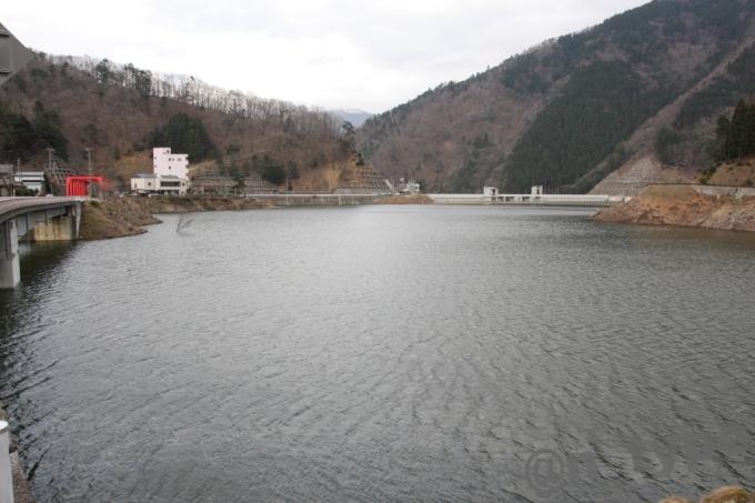 河内川ダム 上流から