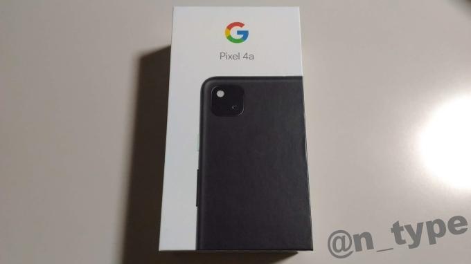 Google Pixel 4a 箱